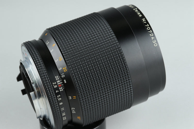 Contax Carl Zeiss Makro-Planar T* 100mm F/2.8 AEG Lens for CY Mount #20969 A2