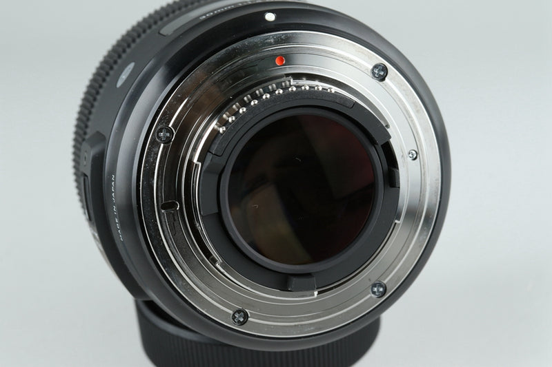 Sigma A 30mm F/1.4 DC Lens for Nikon With Box #20986