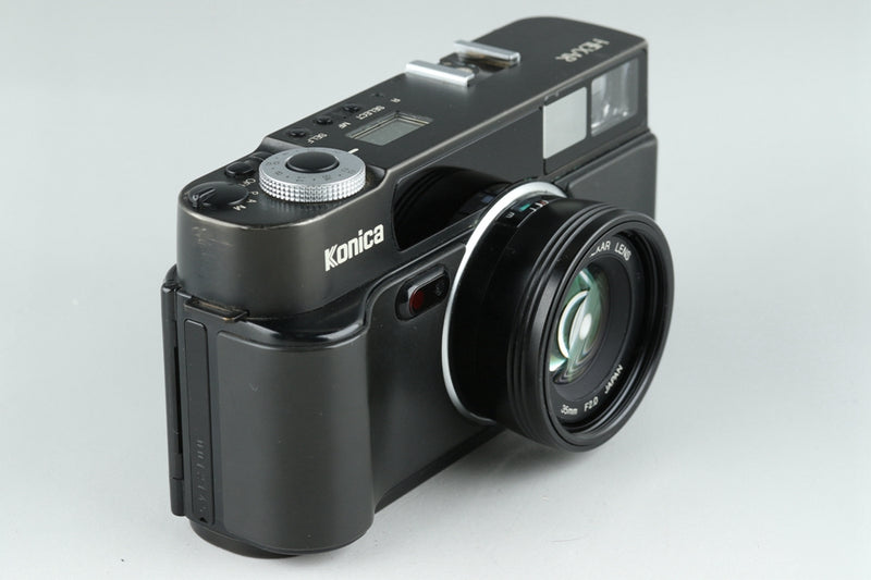 Konica Hexar AF 35mm Rangefinder Film Camera In Black #21008D4