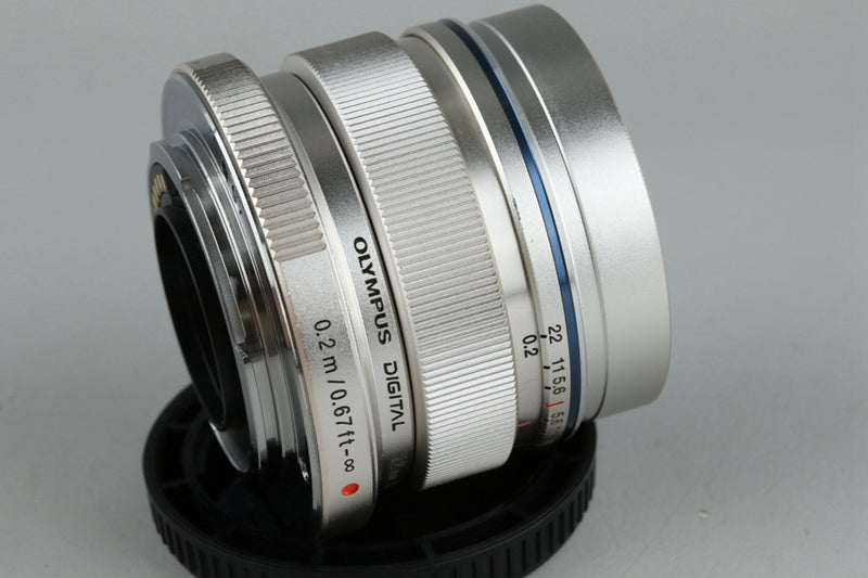 Olympus M.Zuiko Digital 12mm F/2 ED MSC Lens for M4/3 #21113F4