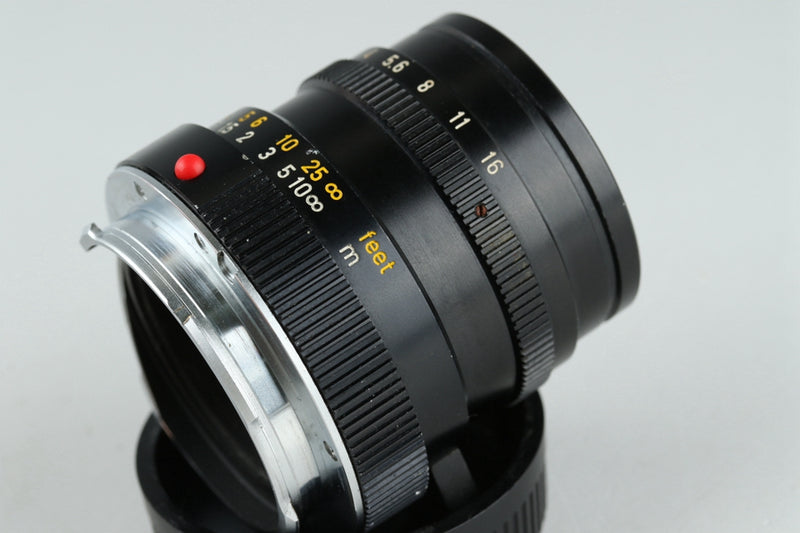 Leica Leitz Canada Summicron-M 50mm F/2 Lens for Leica M #21150C1