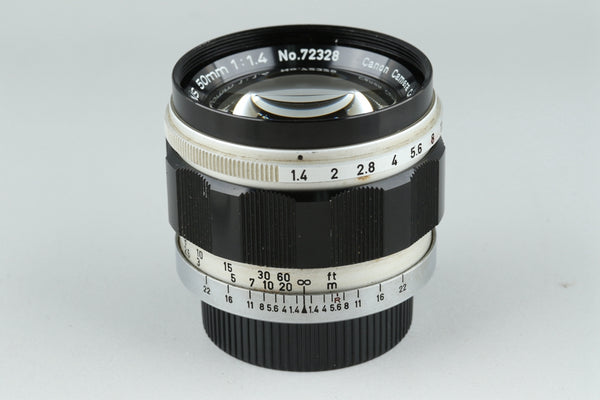 Canon 50mm F/1.4 Lens for Leica L39 #21242G1