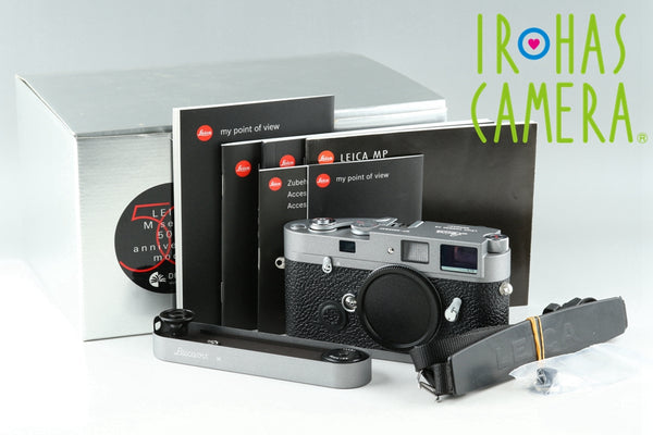 Leica MP 0.72 Anthracite Kit *154/600* With Leicavit M With Box #21450