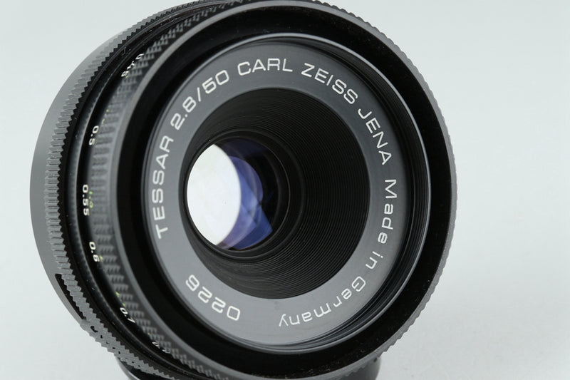 Carl Zeiss Jena Tessar 50mm F/2.8 Lens for M42 Mount #21456 F4
