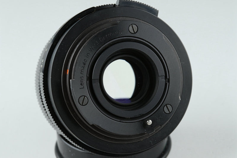 Carl Zeiss Sonnar 85mm F/2.8 Lens for Rollei QBM Mount #21458G3