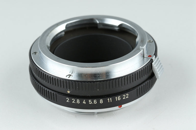 Leica Leitz OUBIO for Visoflex Screw to M + Leica Leitz 14127F for M to R #21485F3