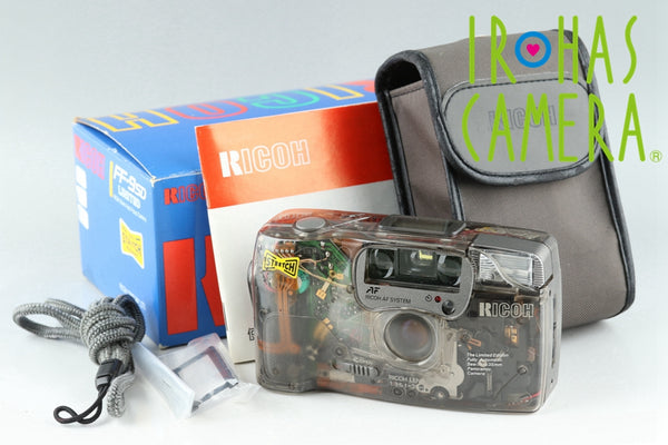 RICOH FF-9SD Limited 35mm Point & Shoot Film Camera With Box #21788