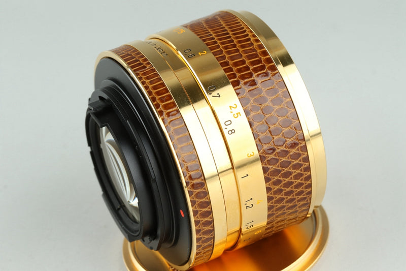 Contax RTS + Planar T* 50mm F/1.4 Lens Gold Limited Edition With Box #22220