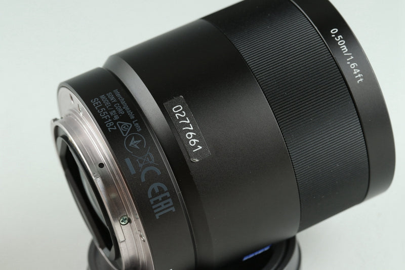 Sony Zeiss Sonnar T* FE 55mm F/1.8 ZA With Box #22279