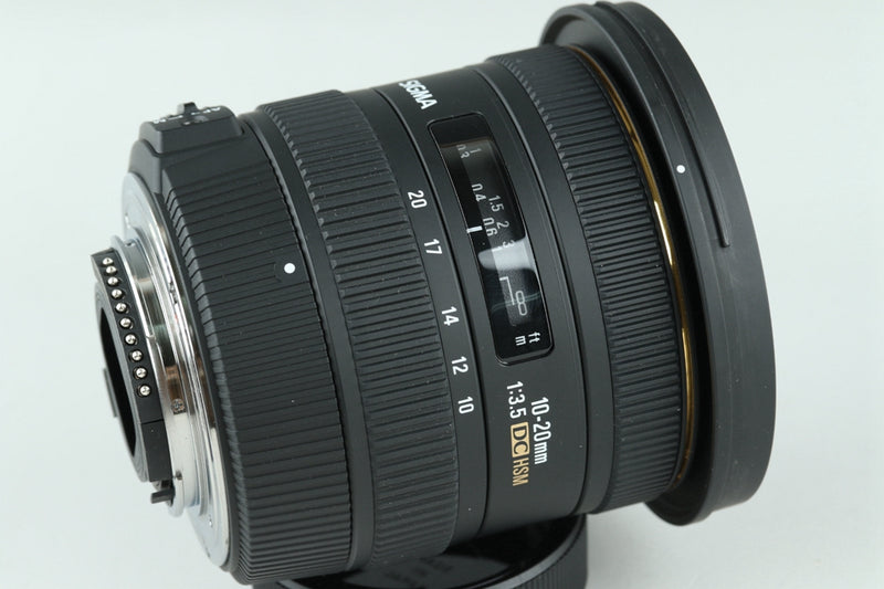 Sigma EX 10-20mm F/3.5 DC HSM Lens for Nikon With Box #22513