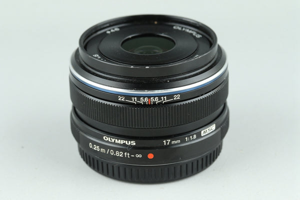 Olympus M.Zuiko Digital 17mm F/1.8 Lens for M4/3 #22522F4