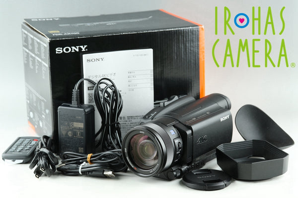 Sony FDR-AX700 4K Digital Video Camera With Box #22567