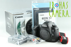 Canon EOS 5D Mark III Digital SLR Camera With Box *Shutter Count 75924*#22583