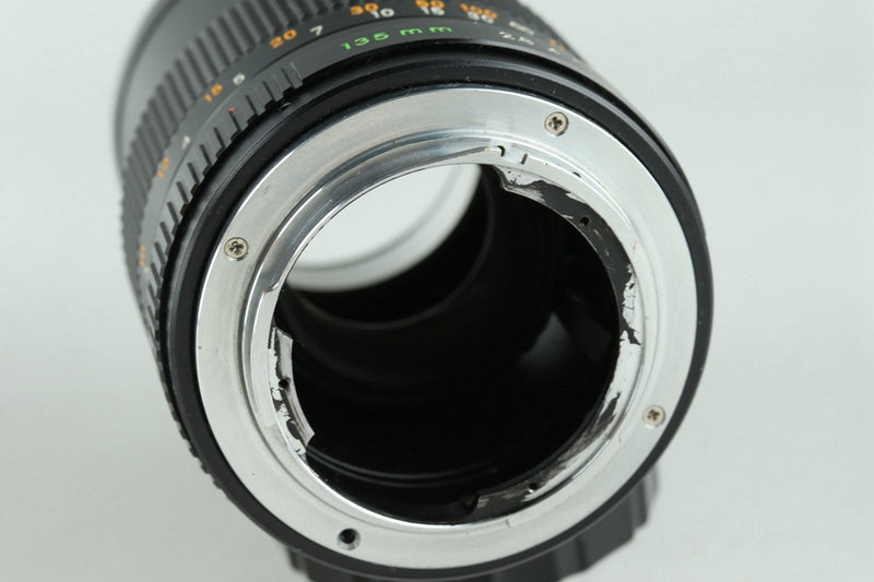 Leica Leitz Hektor 135mm F/4.5 Lens Modified to Contax CY #22723 H3