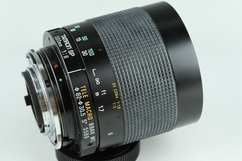 Tamron SP 500mm F/8 Tele Macro BBAR MC Lens for Nikon #22866H2