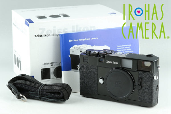 Zeiss Ikon ZM 35mm Rangefinder Film Camera In Black With Box #22870F1