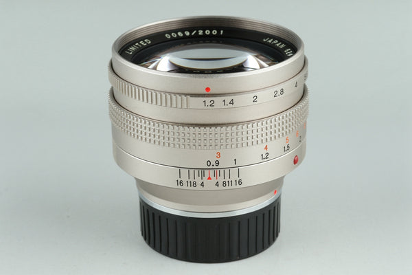 Konica M-Hexanon 50mm F/1.2 Limited Lens 0069/2001 for Leica M #22953H3
