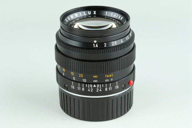 Leica Leitz Summilux 50mm F/1.4 Lens for Leica M #23067C1