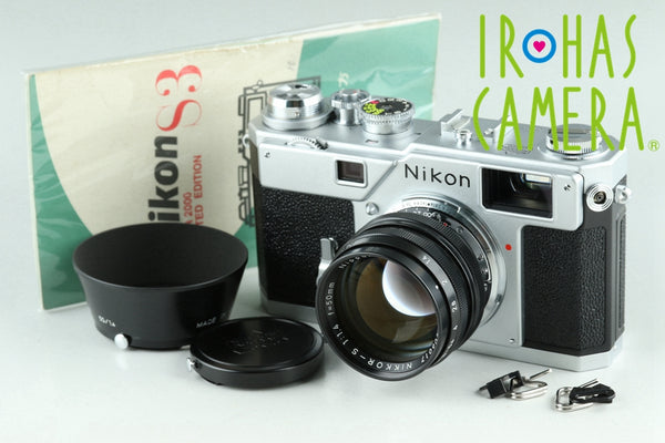 Nikon S3 Year 2000 Limited Edition + Nikkor-S 50mm F/1.4 Lens #23094E2