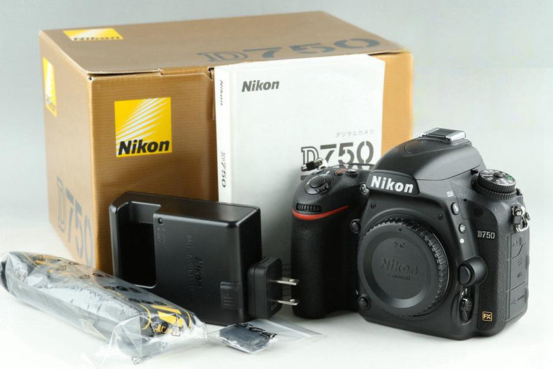 Nikon D750 Digital SLR Camera With Box *Shutter count 6873* #23125