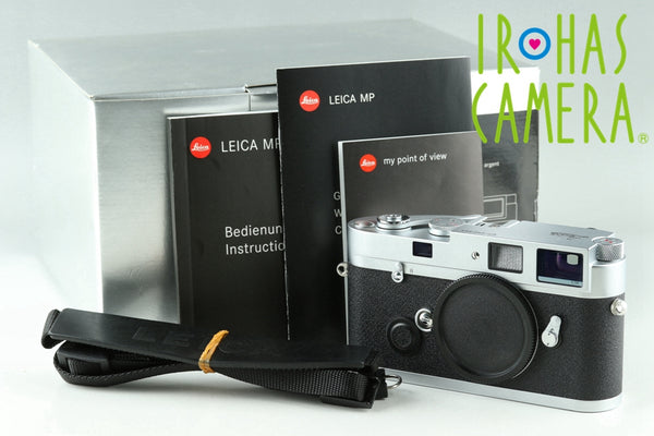 Leica MP 0.58 35mm Rangefinder Film Camera In Silver With Box #23136