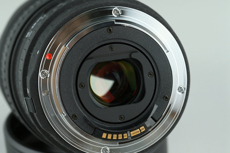 Sigma EX 15-30mm F/3.5-4.5 DG Lens for Canon #23242F5