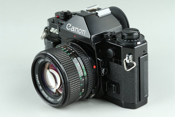 Canon A-1 35mm SLR Film Camera + FD 50mm F/1.4 Lens #23268E4