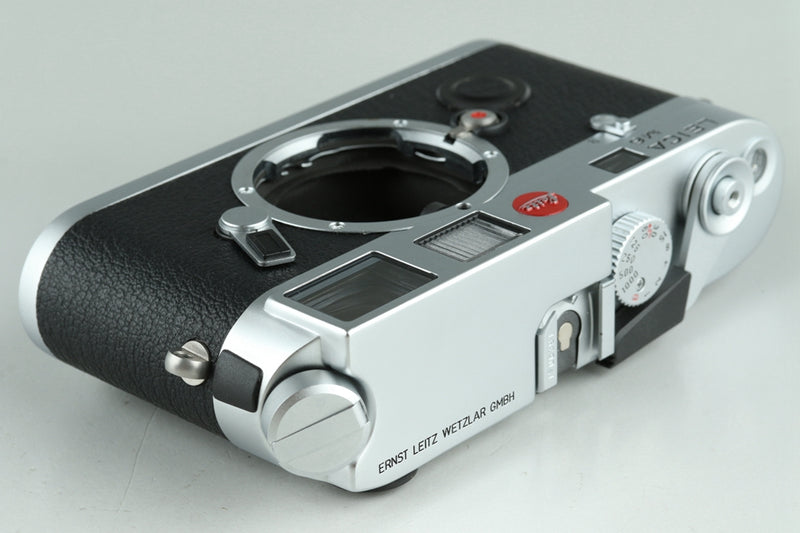 Leica M6 0.72 35mm Rangefinder Film Camera In Silver With Box #23278
