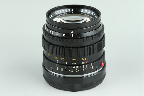 Leica Leitz Summilux 50mm F/1.4 Lens for Leica M #23283C1