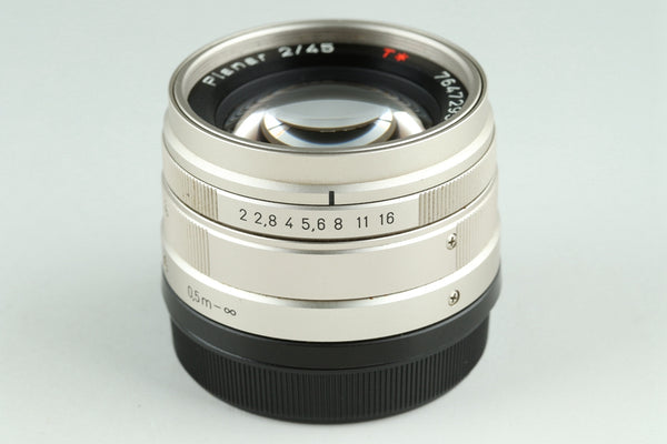 Contax Carl Zeiss Planar T* 45mm F/2 Lens for G1/G2 #23286A1