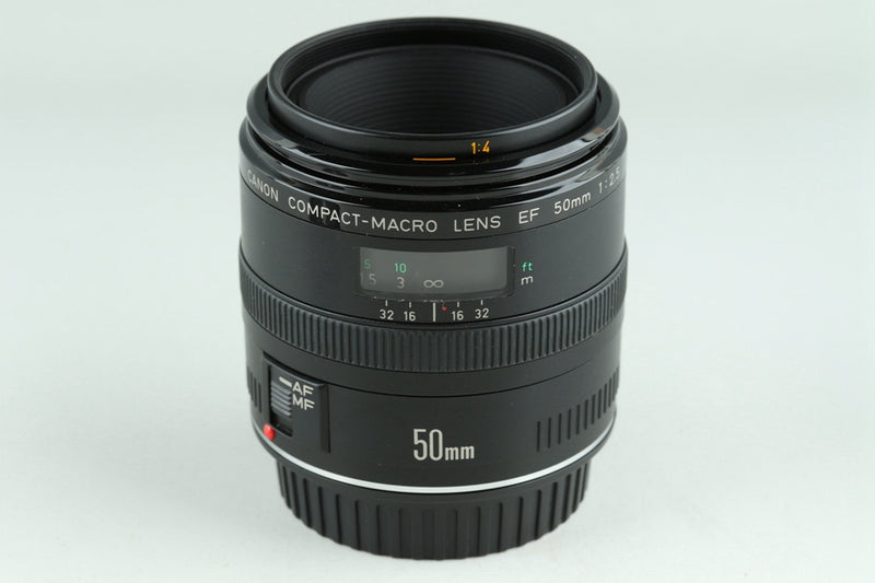 Canon EF 50mm F/2.5 Compact-Macro Lens #23333F4
