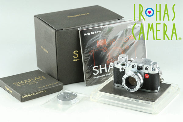 Sharan Leica IIIf Model Mini Classic Camera Collection With Box #23373F1