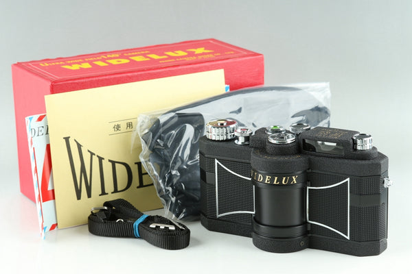 Panon Widelux F8 35mm Panoramic Film Camera With Box #23444