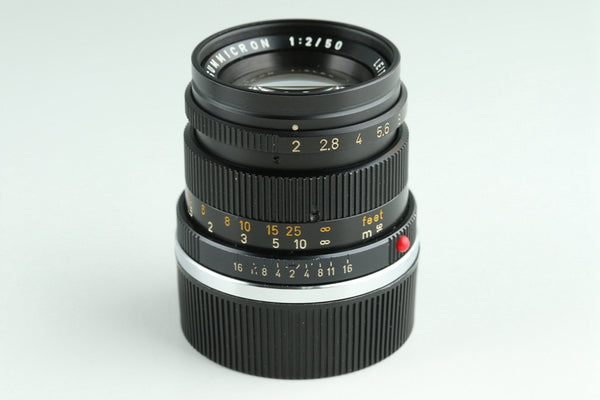 Leica Leitz Summicron 50mm F/2 Lens for Leica M #23448C1