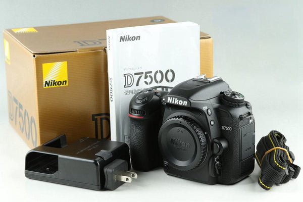 Nikon D7500 Digital SLR Camera With Box *Shutter Count 6391*#23474