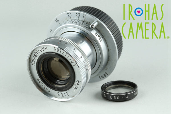 Konishiroku Hexar 50mm F/3.5 Lens for Leica L39 #23500C1
