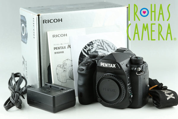 Pentax K-1 Digital SLR Camera In Black With Box *Shutter Count 32848*#23520