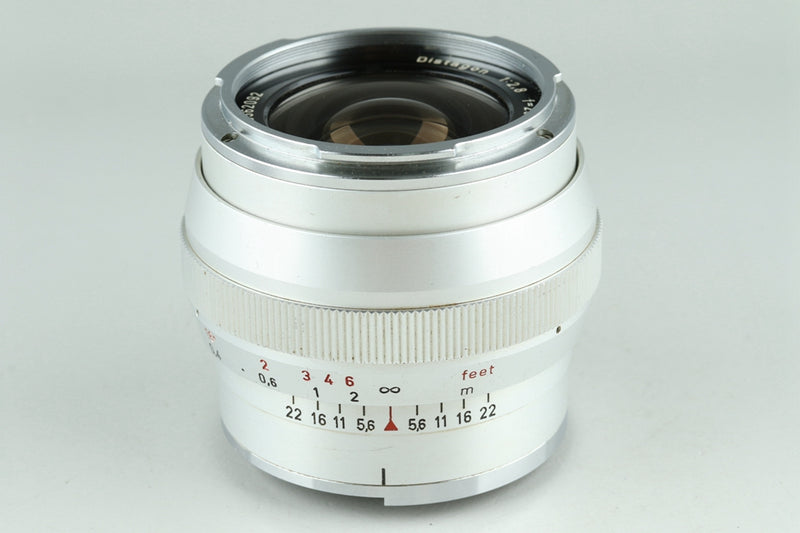 Carl Zeiss Distagon 25mm F/2.8 Lens for Contarex #23529F4