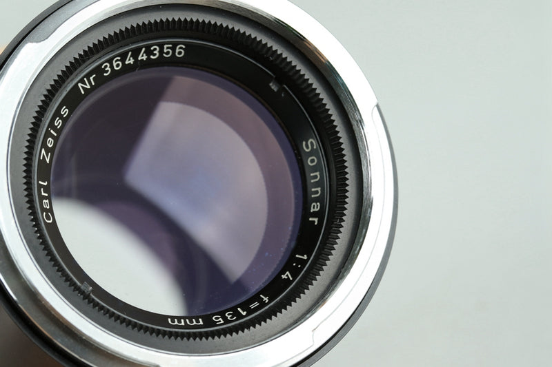 Carl Zeiss Sonnar 135mm F/4 Lens for Contarex #23531F4