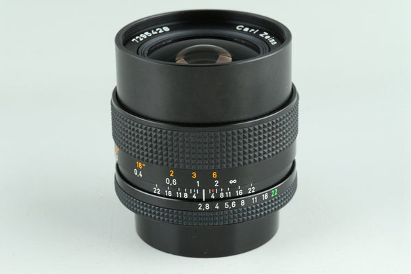 Contax Carl Zeiss Distagon T* 25mm F/2.8 MMJ Lens for CY Mount #23620G2