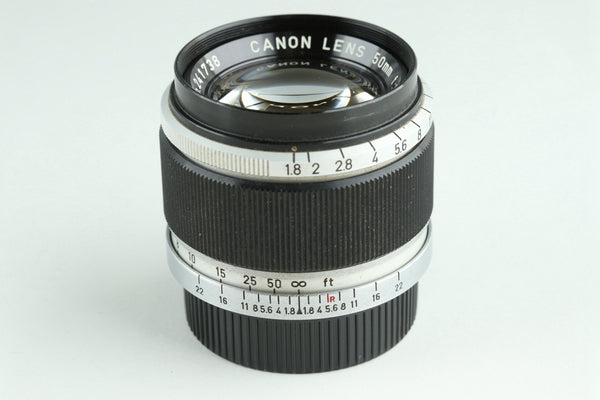 Canon 50mm F/1.8 Lens for Leica L39 #23635C1