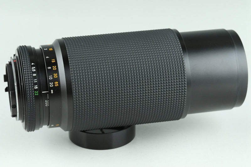 Contax Carl Zeiss Vario-Sonnar T* 80-200mm F/4 MMJ Lens for CY With Box #23651