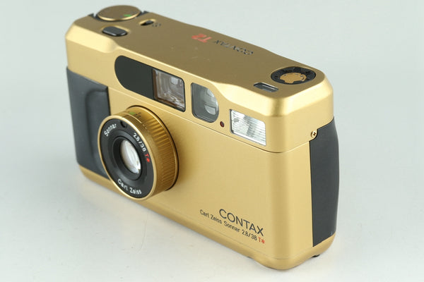 Contax T2 35mm Point & Shoot Film Camera In Gold #23655F1