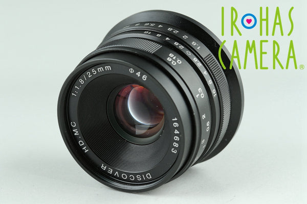 Discover HD.MC 25mm F/1.8 Lens for Sony E #23713G3