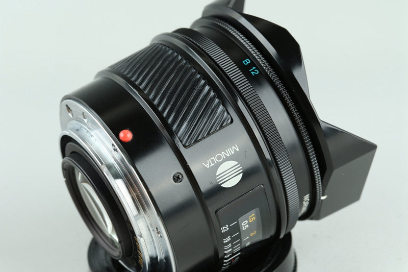 Minolta AF Fish-Eye 16mm F/2.8 Lens #23730G3