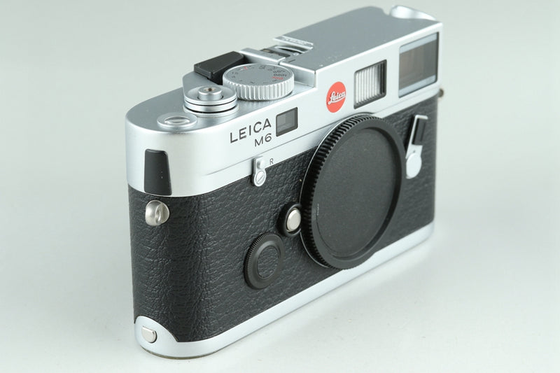 Leica M6 TTL 0.85 35mm Rangefinder Film Camera In Silver With Box #23759