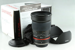 Samyang 35mm F/1.4 AS UMC Lens for 4/3 With Box #23770