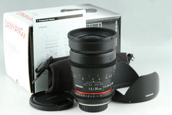 Samyang 35mm F/1.5 AS UMC Lens for 4/3 With Box #23771