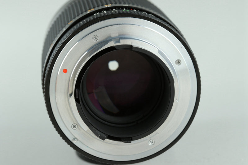 Contax Carl Zeiss Planar T* 100mm F/2 MMJ Lens for CY Mount *No 0000006* #23806A2