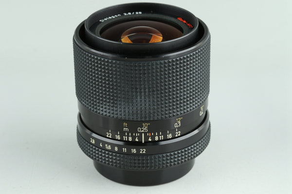 Rollei Distagon 25mm F/2.8 HFT Lens for QBM #23831F4